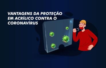 proteção em acrílico